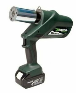 Original Top Quality Greenlee Knockout Punch Driver with 120-Volt Charger
