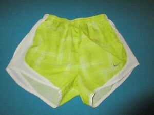 NIKE Womens Green Athletic Running Shorts Size Extra Small XS $11.99