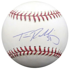 Tim Redding Autographed Signed MLB Baseball Yankees Astros TriStar Holo 3051819