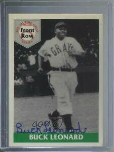1992 Front Row The All Time Great Series Buck Leonard Autographed #4.2 HOF