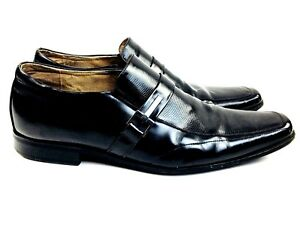 Stacy Adams Shoes Black Leather Men's Designer Shoes Dress shoes Black shoes 11