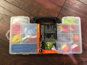 137 pcsset Compartments Tackle Kit Box for fishing Hooks Lures Jigs Full Loaded