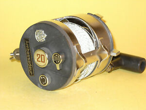 ABU Ambassadeur 20 - a Vintage Big Reel in extremely good condition!