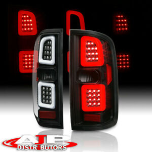 Black LED Tube Phantom Rear Tail Light Brake Lamps For 2015-2018 Colorado Canyon