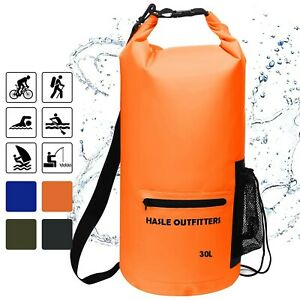 HASLE OUTFITTERS Waterproof Dry Bag-10L20L30L Roll Top Compression Sack... New