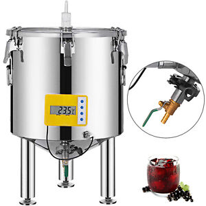 14 Gal Brew Bucket Fermenter Conical With Stopper Brewing   Barrel Food Grade