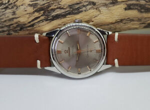 RARE VINTAGE 1961 OMEGA CONSTELLATION GREY DIAL AUTO CAL: 551 MAN'S WATCH