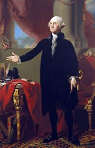 George Washington by Gilbert Stuart Fine Art Repro Made in U.S.A Giclee Prints