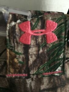UNDER ARMOUR Womens UA Hunt Realtree Xtra CAMO Field Pants Semi-Fitted Womens 10