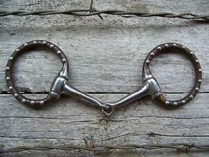 Bit Pony Antique with Dots Snaffle $29.95