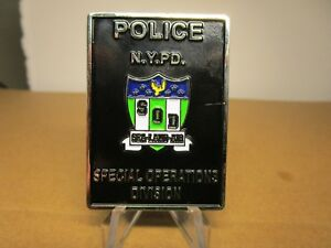 NYPD Special Operations Division SOD Stake Out Unit Challenge Coin #7111