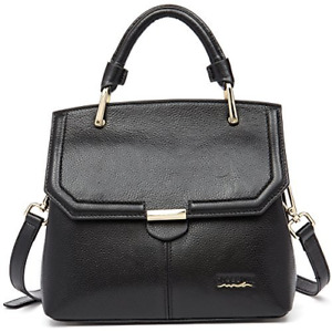 On Clearance - FIGESTIN Women Genuine Leather Designer Handbags Purse Ladies Top