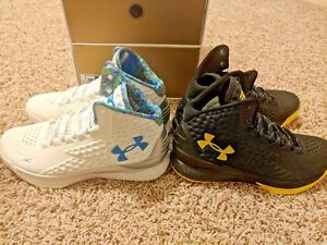 Under Armour Curry One 1 Championship Champ Pack 2015 Splash Party Batman 8