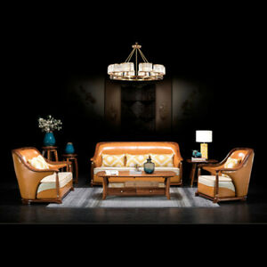 couches for living room slaapbank Wooden Modern Chinese divano lounge sofa bed