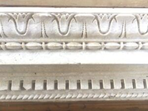 Architectural Salvage:4 Pieces of Highly Detailed Limestone Molding = 17.5 FT.