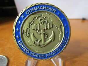 Commander United States Pacific Fleet Fleet Surgeon USN Challenge Coin #6466