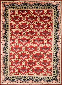100% Vegetable Dye New All-Over Floral 10x13 Heriz Persian Oriental Area Rug
