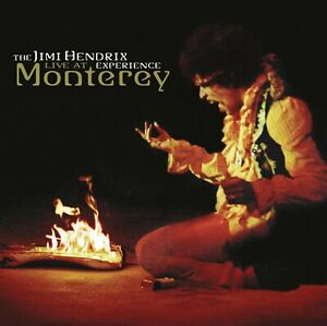 The Jimi Hendrix Experience - Live At Monterey (2014)  CD  NEW  SPEEDYPOST