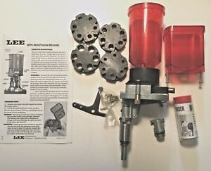 Lee Precision Auto Disk Powder Measure with update kit and riser installed