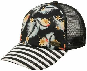 Roxy Water Come Down Women's Hat - Anthracite   Tropical Love - New
