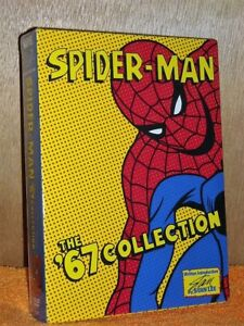Spider-Man: The 67 Classic Collection (DVD 2004) 6-Disc 52 TV episode original