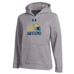 Youth Heather Gray Georgia Tech GT Under Armour Hoodie