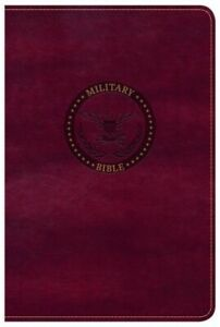 CSB Military Bible Burgundy LeatherTouch .. NEW