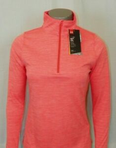 Women's Under Armour Heatgear 1 2 Zip Loose Fit New With Tags $19.49