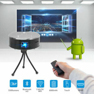 2019 New 5500 Lumens DLP Android Full HD 1080p Video Home Theater Projector