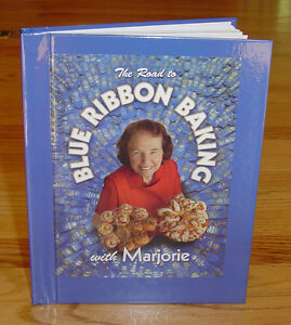 SIGNED! Marjorie Johnson The Road to Blue Ribbon Baking Cookbook ~ New Condition