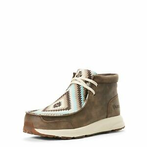 Ariat Women's Vintage Bomber Turquoise Tribal Spitfire Casual Shoes 10027347