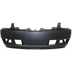 Front Bumper Cover For 2007 2014 Cadillac Escalade w fog lamp holes Primed $128.34