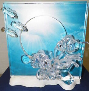 Swarovski Harmony Wonders Of The Sea Clear 681823 New In Box