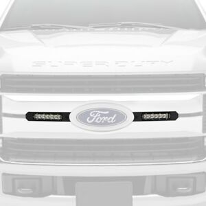 For Ford F-250 Super Duty 17-19 Light Bars Grille Mounted 6