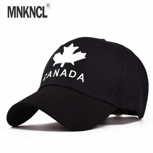 CANADA Letter Cotton Embroidery Baseball Caps Snapback Hat Leisure Hat