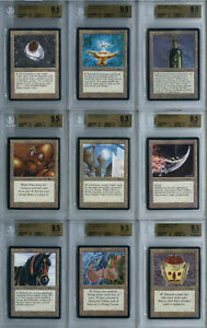 BGS 9.5 Gem Mint Graded Arabian Nights Full Set MtG Magic: the Gathering Cards