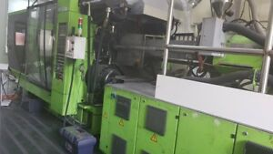 (2006) Engel Duo  2550650 Ton Injection machine high speed 4967 hrs