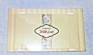 Longaberger quot;With Lovequot; Gift Box In Original Packaging $6.45
