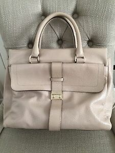 NEW MULBERRY Harriet Tote Pebbled BeigePale Pink Spongy Patent Leather Handbag