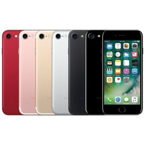 Apple iPhone 7 - 128GB - (Factory GSM UNLOCKED; AT&T  T-MOBILE) - Smartphone