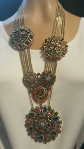 Heidi Daus Kaleidoscope of Color Necklace   Ret: 849.95
