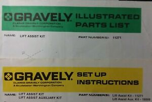 Gravely Riding Lawn Garden Tractor Implement Lift Assist Set-Up