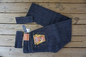 SAMURAI JEANS NWT MADE IN JAPAN S0511XX 15OZ SLIM STRAIGHT SIZE 36x36