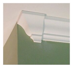 Crown Molding Corner Blocks END CAP left or right molding end return $7.99