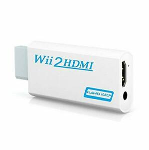 GANA Wii to HDMI Converter 480p  720p  1080p Converter 3.5mm Audio Japan