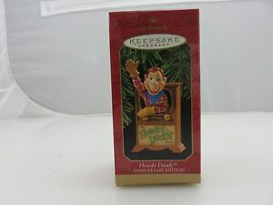 Hallmark Keepsake Ornament HOWDY DOODY Anniversary Edition NEW 1997