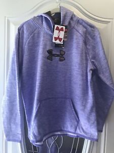 under armour youth xl girls Storm One Pullover Hoodie Lavender NWT Inside CAMO
