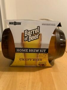 Mr. Beer Barrel of Beer Beer Making Kit Home Brew 2 Gallons at Home New