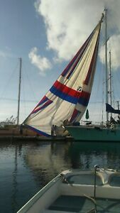Sail Spinnaker with sock 65ft hoist Stars and Stripes Americas Cup sail