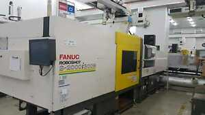 10 x 2013 350 Ton Fanuc Roboshot S-2000i300B All Electric injection molding mach